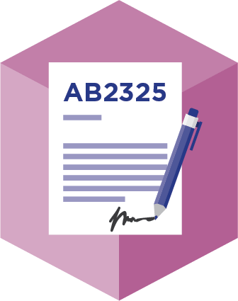 Implementing California AB 2325
