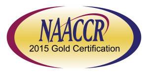 NAACCR 2015 gold certification